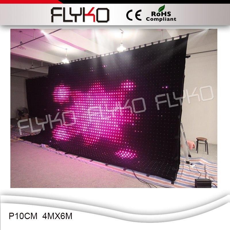 beste verkoop kopen goedkope video backstage led gordijn gebruikt podium gordijnen p10cm 4 m x 6 m in beste verkoop kopen goedkope video backstage led