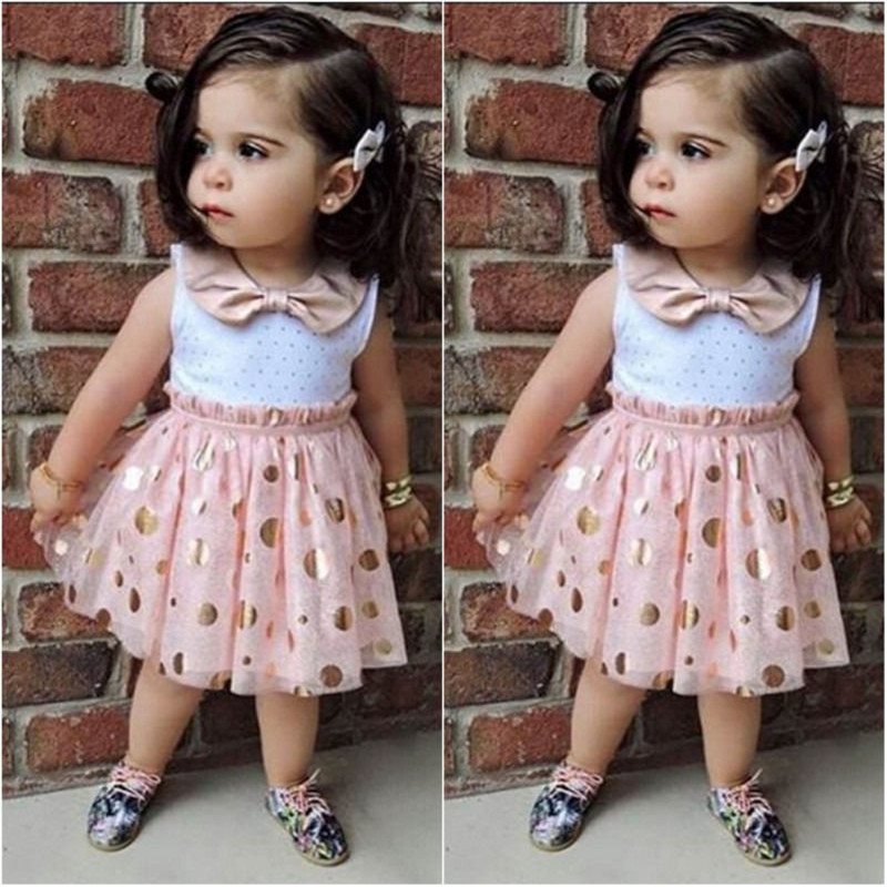 Crianças vestido de moda elegante rosa menina vestido verão bebê meninas sem mangas tule tutu menina lantejoulas vestidos de festa 2 3 4 5 6y