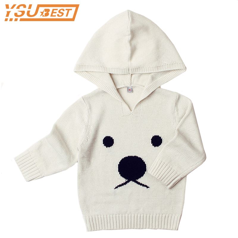 Newborn Baby Sweaters Panda Hooded Cute Sweater For Toddler Boys Girl Autumn Winter Casual Infant Casual child Knitting Jumper