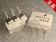 Бесплатная доставка 20 шт./лот CNY17-3 CNY17 DIP6 Транзисторный Выход Оптопары DIP новый оригинальный