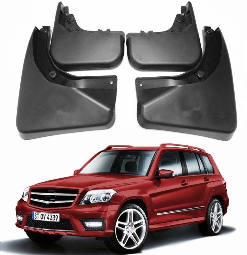 Car Splash Mud Guards Flaps FOR 08-2015 Mercedes Benz GLK X204 280 / 300 / 350 fender 4pcs/set
