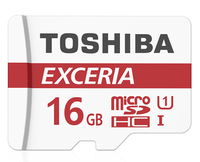 Toshiba Micro SD Card 16GB 32GB 64GB Exceria Micro SDHC UHS I TF Memory Card Class