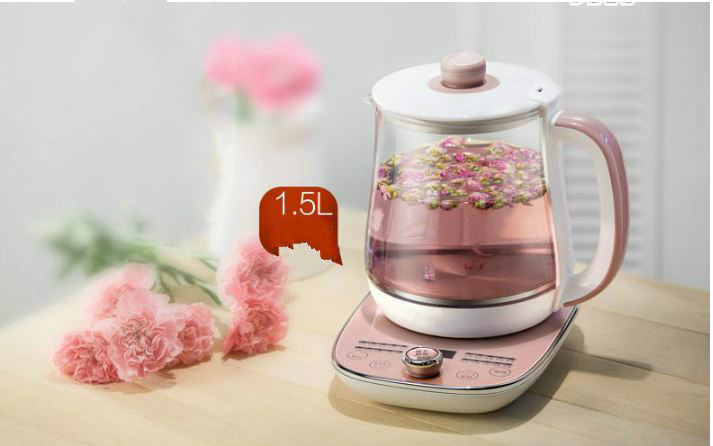 все цены на Full automatic thickened glass multi-function household tea kettle boiling kettle electric Anti-dry Protection