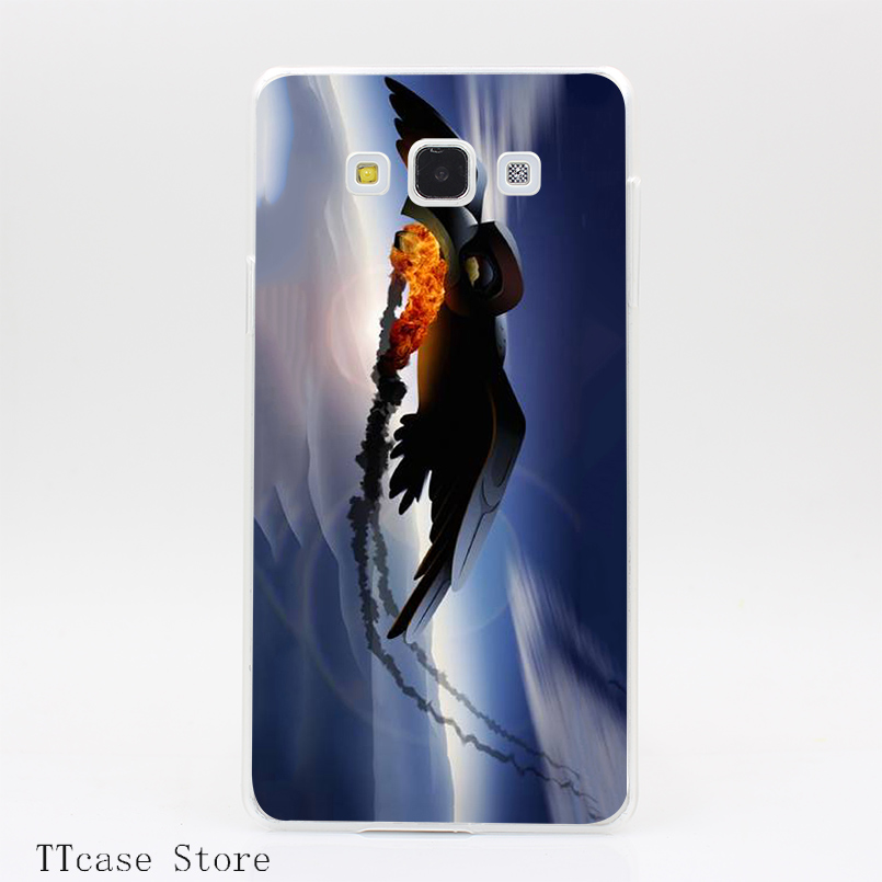2859CA Raven Steals Fire from the Sun Transparent Hard Cover Case for Galaxy A3 A5 A7 A8 Note 2 3 4 5 J5 J7 Grand 2 & Prime