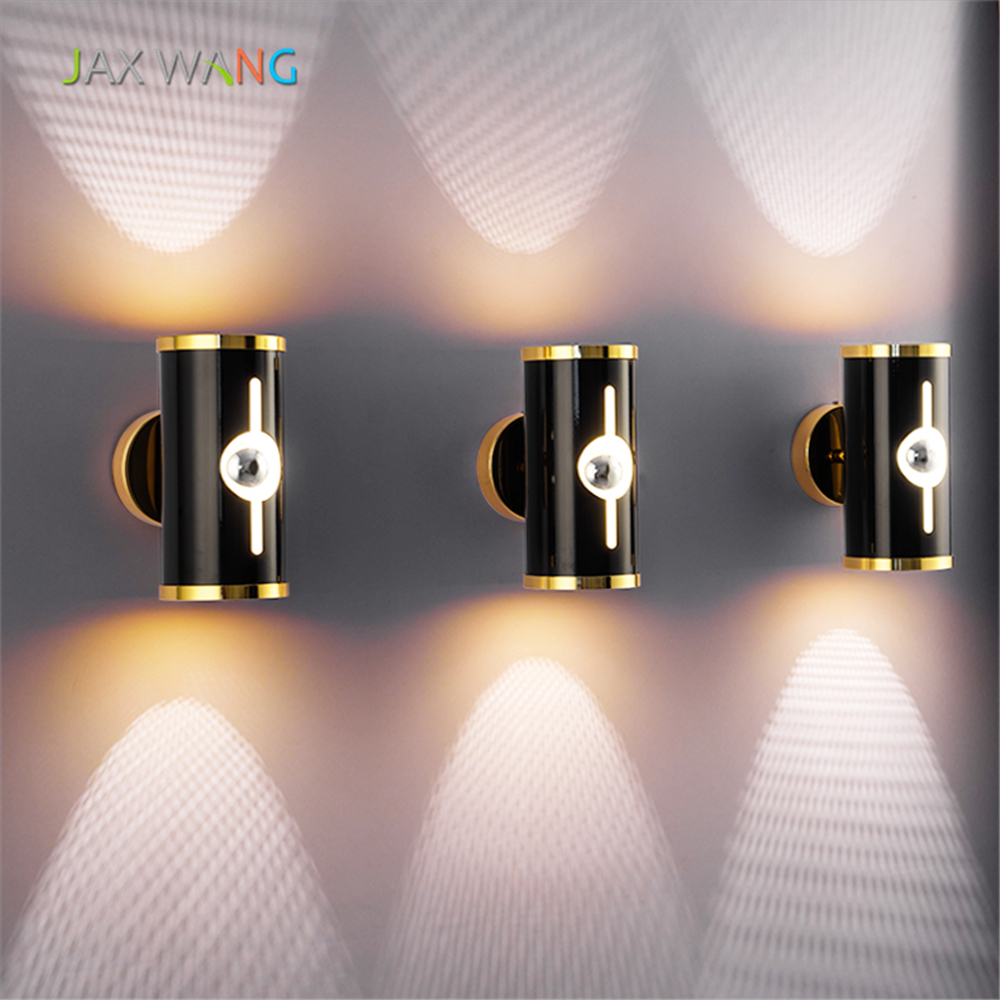 Europe and The United States Bedroom Bedside LED Wall Lamp for Corridor Aisle Living Room Restaurant Staircase Lighting Fixtures