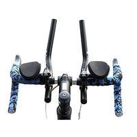 Mounchain Road Mountain Bike Bicycle Handlebar install MTB Relaxation Rest Aerobar Bar Handlebar bike parts accessories Blue