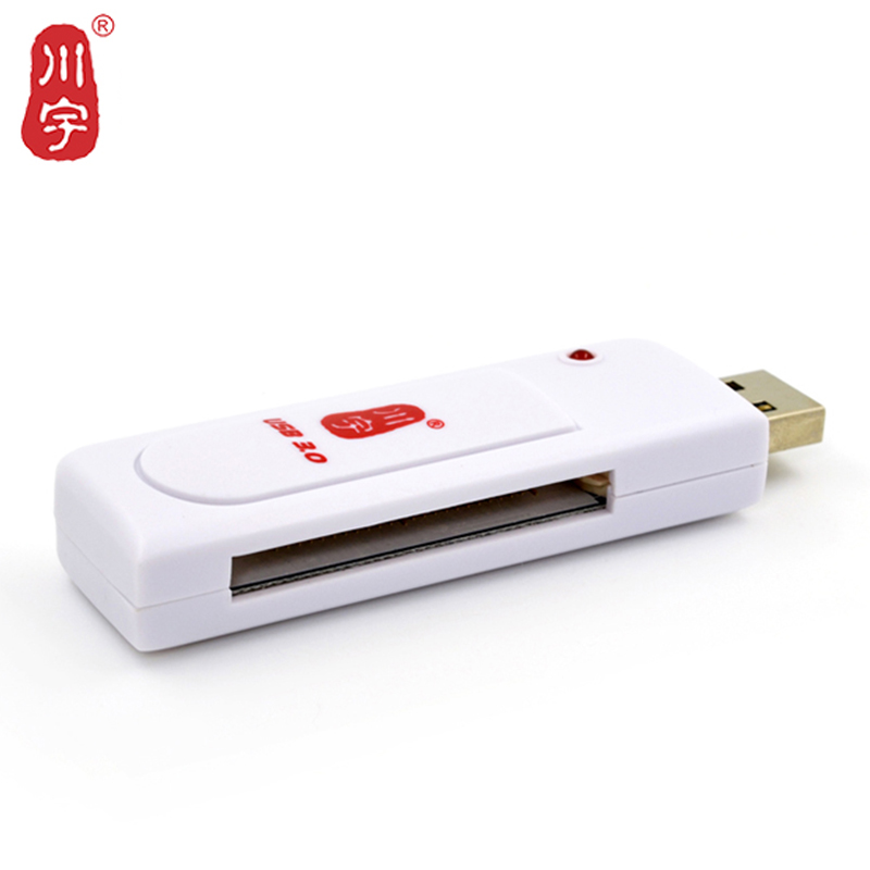 Kawau CF Card Reader 3.0 USB High Speed Adapter with CF Card Slot Max Support 256GB Memory Card Reader for Computer C301
