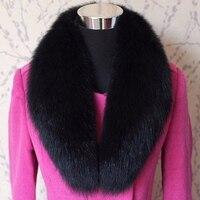 リアルフォックス毛皮の襟の毛皮のスカーフマフラーホットリアル毛皮の襟スカーフ毛皮ショール襟コート