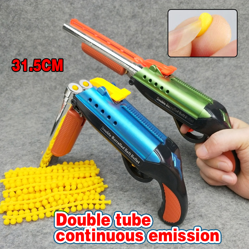 Fast Delivery Double Tube Soft Bullets Toy Gun Bullets Suit For Toy Gun Dart Perfect Suit For Gun Christmas Gift