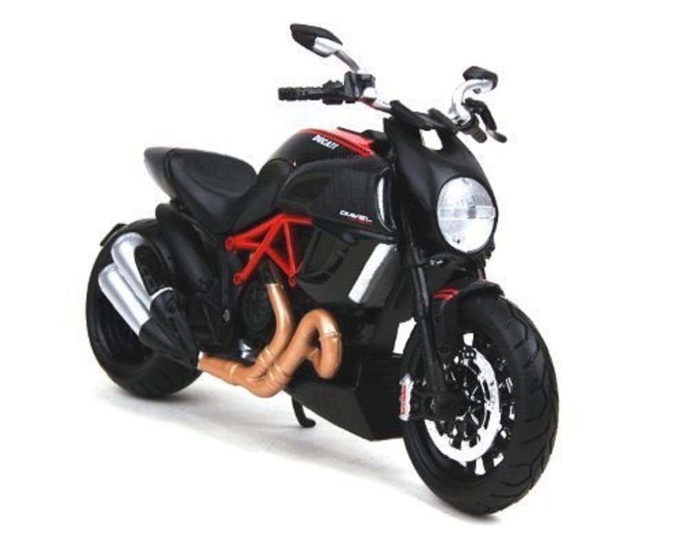 Maisto 1 12 31196 Ducati Diavel Carbon MOTORCYCLE BIKE Model FREE SHIPPING