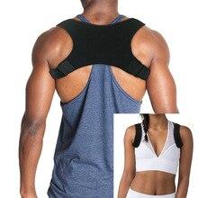 2019 Support Belt Adjustable Back Posture Corrector Clavicle Spine Shoulder Lumbar Correction good quality