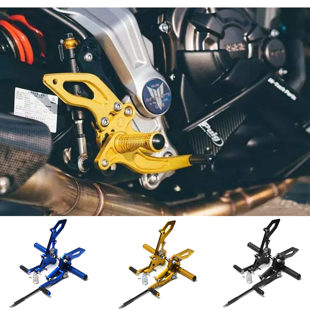 Motorcycle CNC Parts For Yamaha MT-07 FZ-07 MT07 Adjustable Rear Set Rearsets Footrest for YAMAHA MT-07 FZ-07 FZ7 2014-2017 2016 8 color for ducati 999 949 749 748 916 996 998 cnc adjustable rearsets rear set motorcycle footrest hot high quality moto pedal