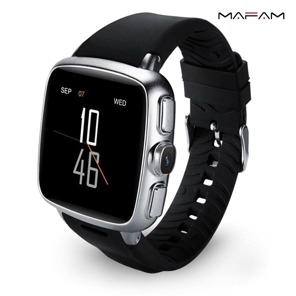 3G Amdroid Smart wristband Watch Phone 8GB ROM WiFi GPS SIM Google Play Camera Health Sports Heart Rate Monitor Wristwatch  Z01