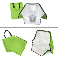 Green Portable Solar Oven Bag Cooker Sun Outdoor Camping Travel Emergency Tool For Cooking Oven Bags