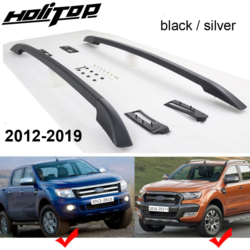 New arrival for Ford Ranger OE luggage bars roof rails roof rack aluminum alloy install by