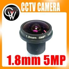 CCTV lens 1.8mm 180 degree 5MP CCTV MTV Board IR Lens Fisheye Lens for Security CCTV Video 1080P IP cameraCameras