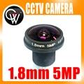 CCTV lente de 1.8mm 180 graus 5MP CCTV MTV Board Lens IR Lente Olho de peixe para a Segurança CCTV Vídeo 1080 P IP cameraCameras