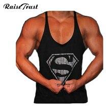 bodybuilding Professional fitness Tank tops cotton vest paragraph bodybuilding Tank top for men musculation