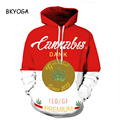 New Stylish Unisex 3d Sweatshirts Cannabis Letters Painted Autumn Hoodies Drop Ship