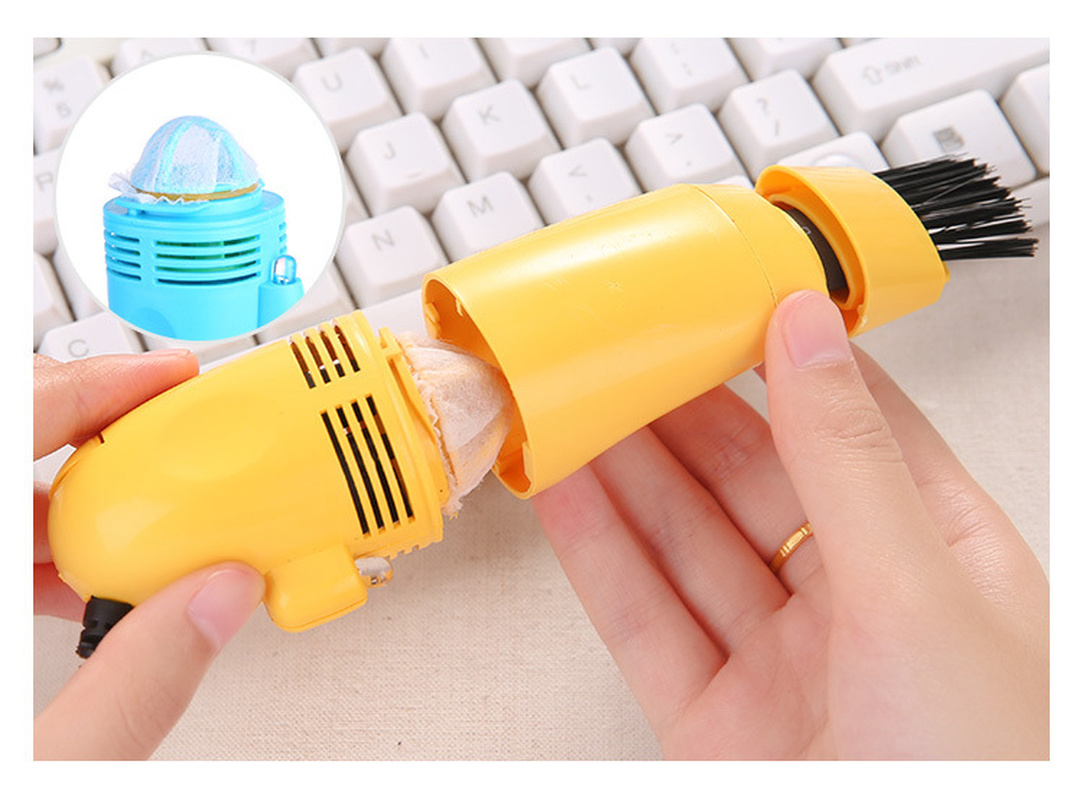 1pc Keyboard clea Mini USBComputer Vacuum Cleaner Brush PC Laptop cleane Dust Cleaning Kit Cleaning tool Household Cleaning