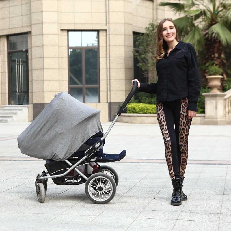 새로운 아기 자동차 좌석 커버 유아 Canpony 간호 커버 다용도 Stretehy 인피니티 스카프 모유 수유 배송 자동차 의자 커버