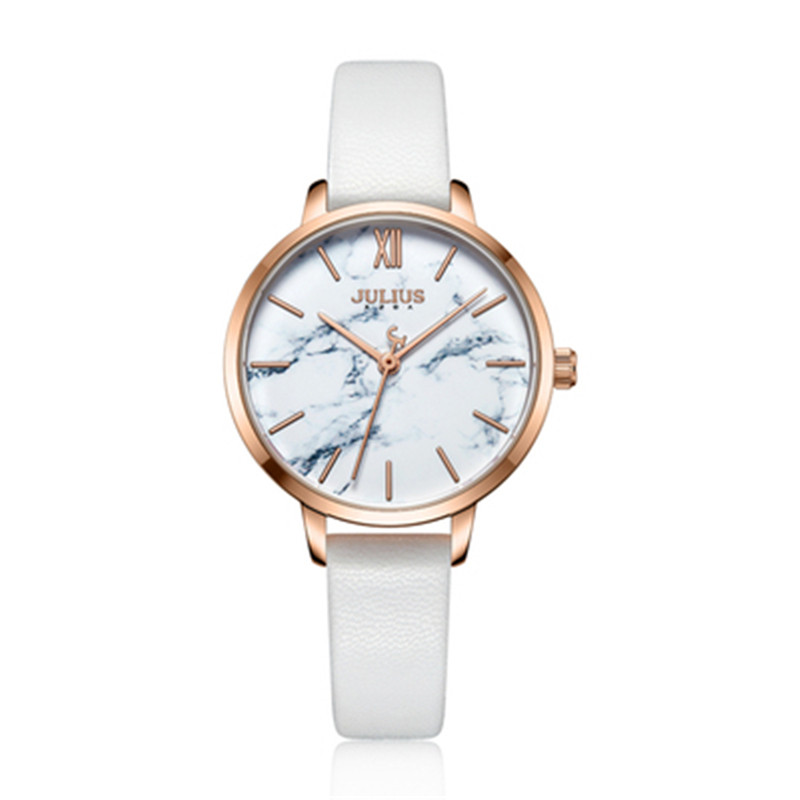 Julius women quartz watch waterproof fashion Heart pattern genuine leather crystal quality Romantic stereo brand watches 0010 julius 397 heart shaped women quartz watch with diamond round dial genuine leather strap