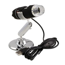Buy online Practical Electronics 2MP USB 8 LED Digital Camera Microscope Endoscope Magnifier 50X~500X Magnification Measure ABS+ alloy