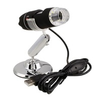 2MP 1000X 8LED USB Digital Microscope Endoscope Video Magnifier Stand