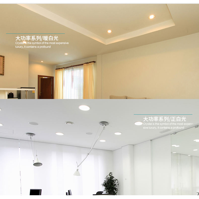 10X High quality Environmental protection led downlight 3W Hole 70- 88mm AC220V SMD5730 LED Spot light led ceiling lamp