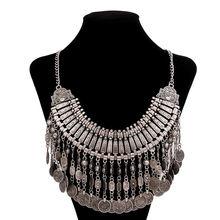 Lzhlq 2020 богемное античное ожерелье с монеткой для женщин