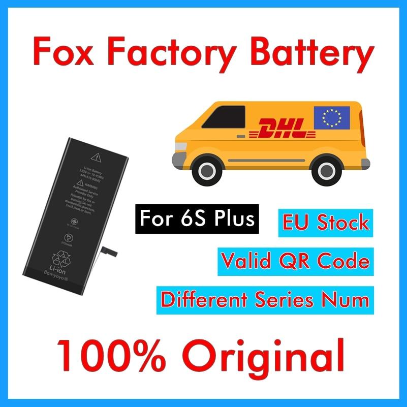 Foxc Factory-Battery iPhone 6s Replacement Plus DHL Original for Plus/6sp/2750mah/..