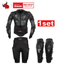 HEROBIKER Motorcycle Body Armor Protective Jacket Gears Short Pants protective Motorcycle Knee Pad Motorcycle Protection