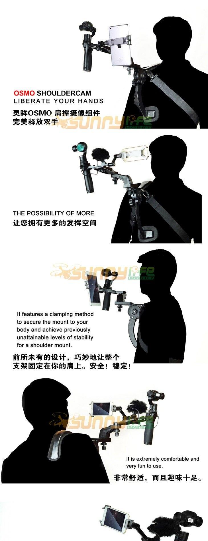 כתף הר בעל כתף מצלמה תמיכה לשחרר את היד על אוסמו(+)/ אוסמו ניידים