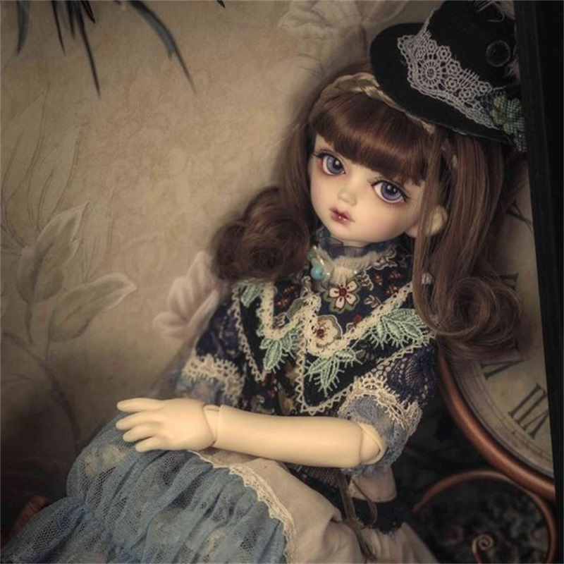 OUENEIFS msd Toppi Volks bjd sd dolls 1/4 body model girls boys eyes High Quality toys shop resin