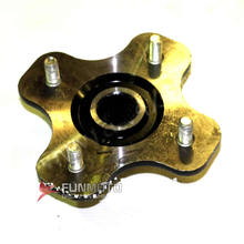 rear wheel mounting bracket wheel hub and flange of CFMOTO CF500ATV ,the parts number is 9010-110001-1000