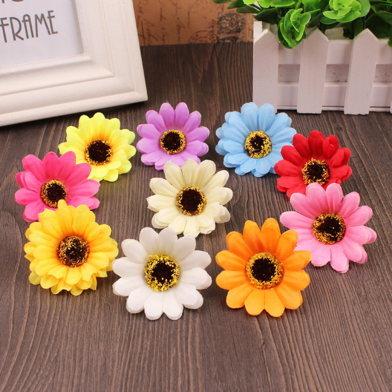 10 styles100pcs colors pretty the sunflower simulation 10 styles100pcs colors pretty the sunflower simulation artificial flowers festival party decorative flower free shipping mightylinksfo