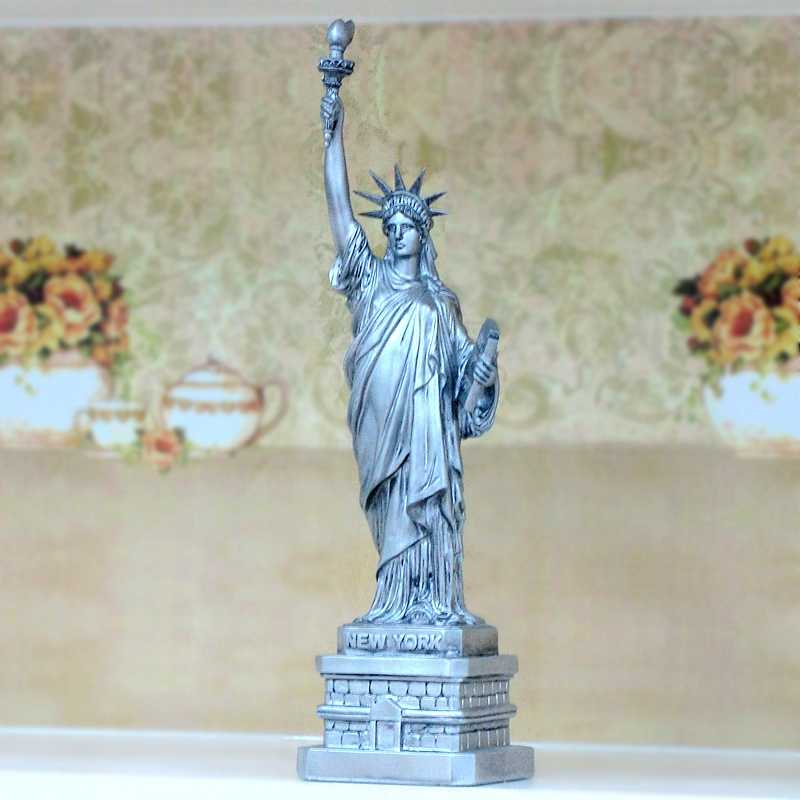 Statue of Liberty Tourism Souvenir Ornaments Ornaments European Characters American Liberty Resin Model