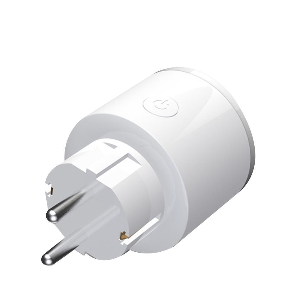 Smart WiFi Remote Control Socket EU WIFI Round Home Plug Socket RGB Night control, Easy operation Lamp EUPlug