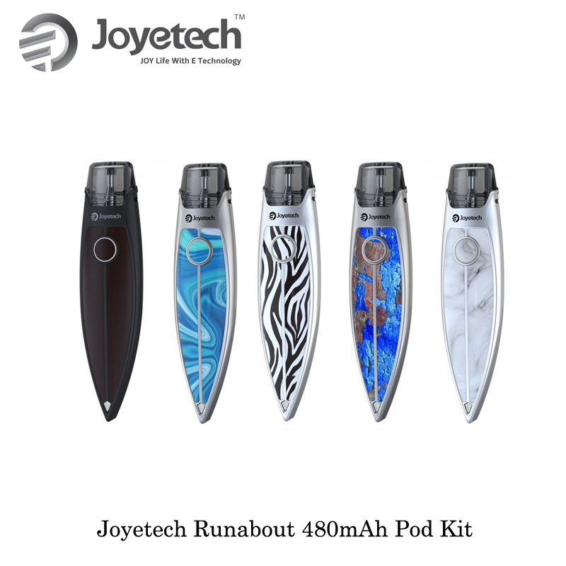 Cigarette électronique Joyetech Runabout 480 mah Pod Kit 2.0 ml Capacité Avec Re-rempli Pod Cartouche Vaporisateur ecig Vaporisateur VS Justfog