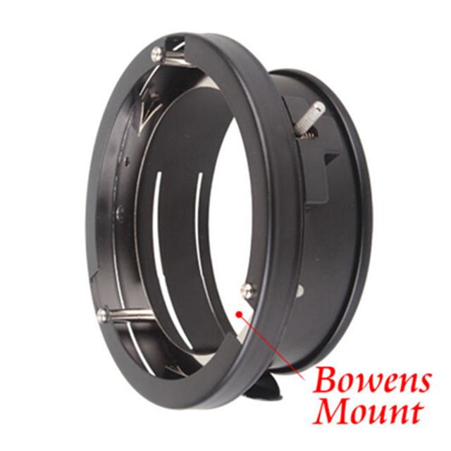 100% Original Godox Universal mini 98mm flash Mounts To Bowens Mount Ring Adapters Studio Strobe Godox 160W 250W 300W