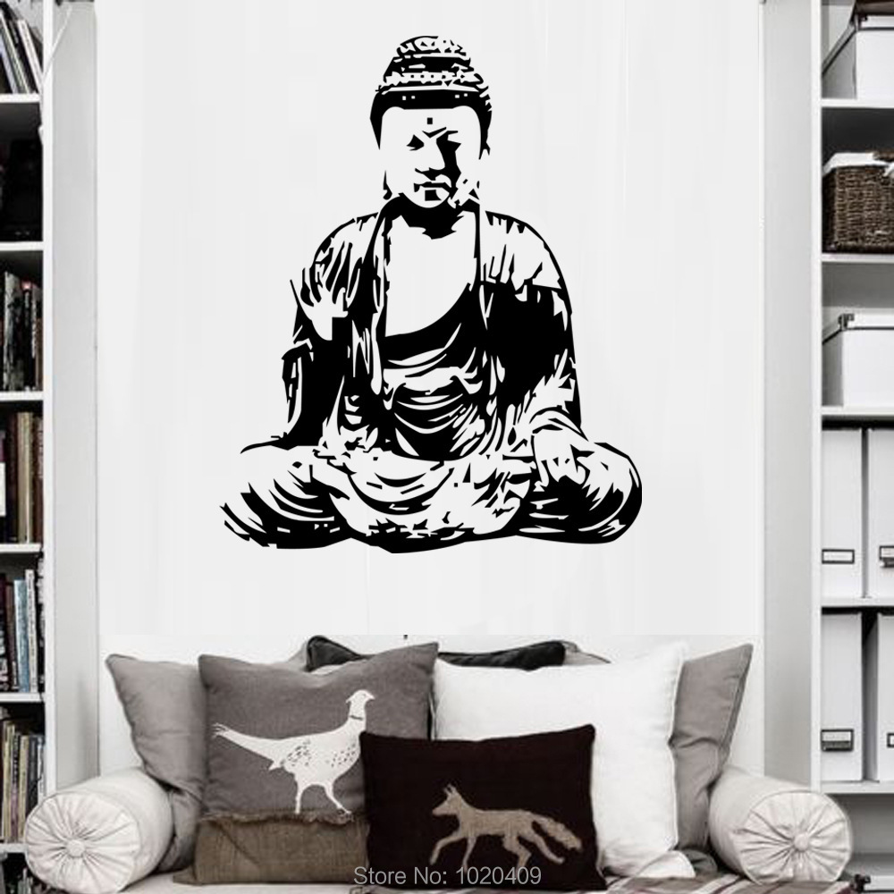 God Wallpaper Decor : Buy wholesale buddha wallpaper from china