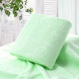 Image 4 - 70X140CM микрофибра быстросохнущее полотенце медведь банные полотенца с героем мультфильма хлопок мягкие сухие полотенца кухня чистые впитывающие полотенца цвет