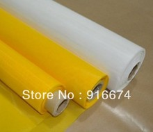 Free and Fast shipping! Discunt 300M 120T yellow polyester silk screen printing mesh 127CM/50