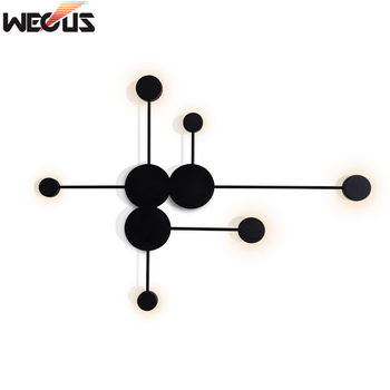(WECUS) Postmodern wall lamp creative personality home living room video wall bedroom bedside Big Dipper wall lamp big dipper s10rg page 1