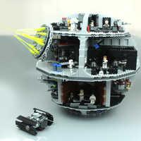 05063 75159 stucke Kraft Geweckt UCS Death Star Educational Bausteinziegelsteine Spielzeug Kompatibel