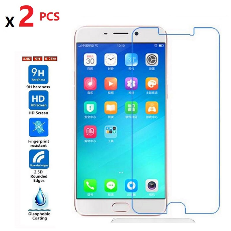2 PCS Tempered Glass Screen Protector For OPPO R15 R11S R11SPlus R11 R11Plus 9H 2.5D 0.26mm