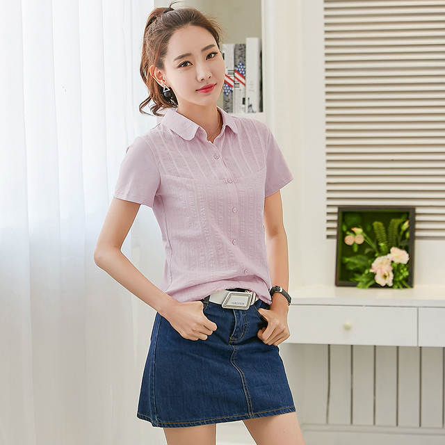 53b5c41f80a4 Shintimes Korean Fashion Clothing Blusas Mujer De Moda 2018 Embroidery  White Shirt Womens Tops And Blouses