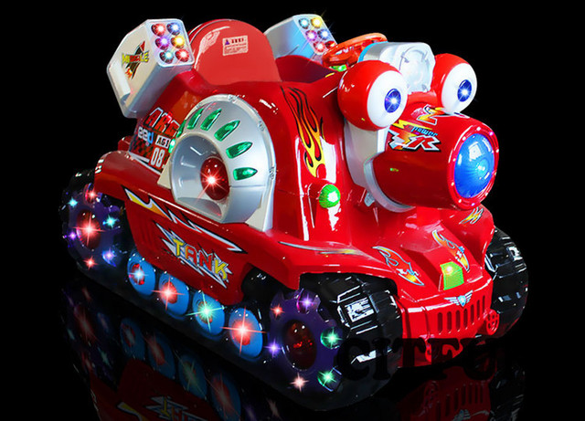Schaukel Englisch tank münz kiddie rides mit englisch controller für verkauf schaukel
