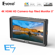 Eyoyo E5 5 Inch inch video camera monitor Full HD1080P portable LCD hdmi Display for Sony Canon Nikon dslr stabilizer 4K MONITOR цена 2017