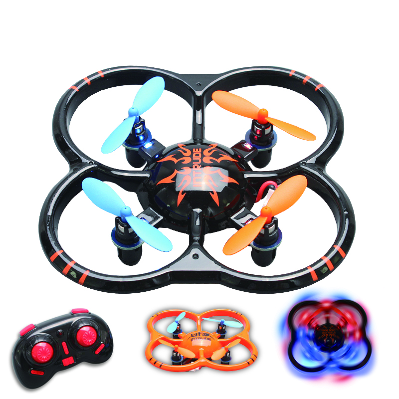 U207 Nano Drone 2.4G Mini RC Drone Quadcopter 3D RTF RC Quad copter Better than Cheerson CX-10 Hubsan Q4 Wltoys V272